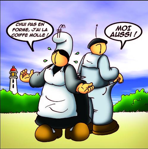 carte humoristique bretonne
