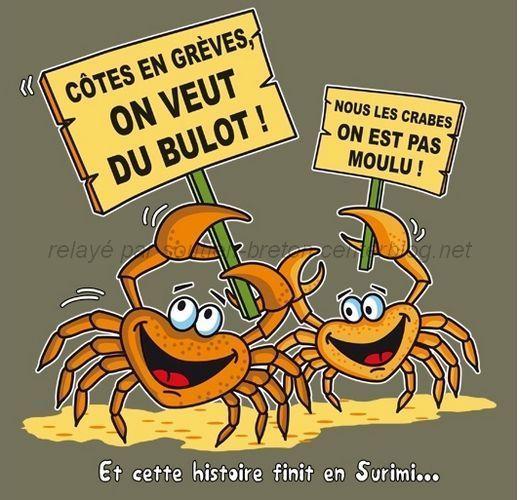 Extrem Humour Breton - Coquillages, crustacés et jeux de mots FK69